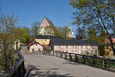 The cathedral on the hill is as much a symbol of Porvoo as the red houses
