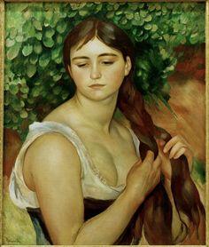 suzanne valadon | ... de la imágen Pierre-Auguste Renoir - Renoir / Suzanne Valadon / 1884