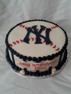 Yankees Cake@rendi Nichols