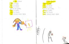 Sight Word Poems in Reading and Writing Notebooks