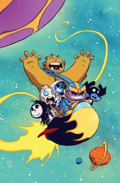 #Infinity #Fan #Art. (Infinity Vol.1 #2 Baby Variant Cover) By: Skottie Young. (THE * 5 * STÅR * ÅWARD * OF: * AW YEAH, IT'S MAJOR ÅWESOMENESS!!!™) ÅÅÅ+