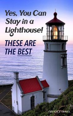 Cool lighthouse hotels