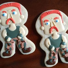Abraham Ford Walking Dead Sugar Cookies by BettaBakery on Etsy