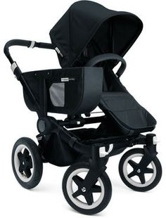 Bugaboo Donkey Duo-Extension Set, All Black on shopstyle.com