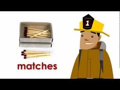 Firefighter Dan website, created by a firefighter!  Great short videos and printables for young children to learn safety tips!