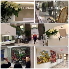 Best IDEX presentation was at the new Women's College Hospital. The artwork the colours and the whole atmosphere was very lovely. #idex #women'scollegehospital job well done