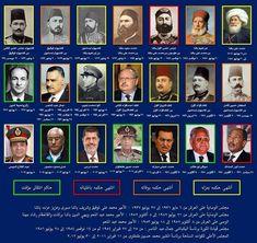 هؤلاء حكموا مصر