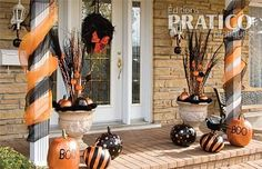 Halloween ext rieur sur pinterest d corations d for Idee deco exterieur halloween
