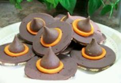 Cookie witch hats