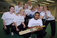 Adil Rashid with some of the youngsters at Headingley. Yorkshire first team stars including captain Anthony McGrath and leg-spinner Adil Rashid have launched the Yorkshire Bank Community Cricket Talent Programme.   The programme aims to uncover 150 talented junior players in the region by 2012. The financial support from Yorkshire Bank will enable more sophisticated talent identification and coaching and development by Yorkshire County Cricket Club's (YCCC) senior coaching staff.