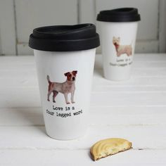 Personalised Dog Travel Mug