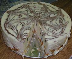 Recept na túto tortu som vyžobrala ihneď po prvej ochutnávke od spolupútničky na materskej dovolenke...