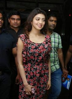 Enjoy the Latest Photos of Pranitha at Hyderabad Blues Restaurant Launch. She looking so pretty in open hairy style and wearing a mini skirt.