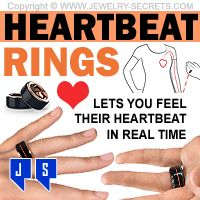 ►► FEEL THE REAL HEARTBEAT RINGS ►► Jewelry Secrets