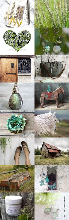 Reaching Out To Spring! by Laura Lee Laroux on Etsy--Pinned with TreasuryPin.com