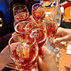 #cheers 昼から乾杯in KYOTO🍾  #ロゼしかないって言うから…しょうがないなぁ😆 #プチ同窓会 #女子会#昼飲み#週末お出かけ#sante#乾杯#cincin#champagne #kyoto#京都#出町柳#roze