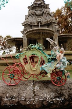 Fairy tale carriage workshop