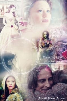 """""""You are a beautiful woman..who loved an ugly man. You find goodness in others, and when its not there, you create it. You make me want to go back..back to the best version of me."""" - Rumpelstiltskin  <3"""