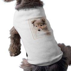 #Shetland Sheepdog Puppy T-Shirt - #puppy #dog #dogs #pet #pets #cute #doggie #doggieshirt