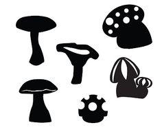 Des champignons ~ KLDezign les SVG