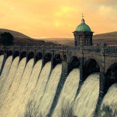 Craig Goch Dam in Wales