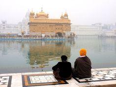 Aeropost Argentina en Amritsar y Templo Dorado de los Sijs en la India