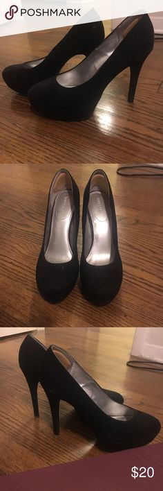 Classic Black Platform Pumps Black platform pumps Xappeal Shoes Heels