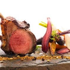 Try this recipe for spicy lamb cutlets, rosemary, oregano and labneh this Sunday, by Colin Clague - from one of Dubai's hottest restaurant, Q'Bara.  #FOURMagazine