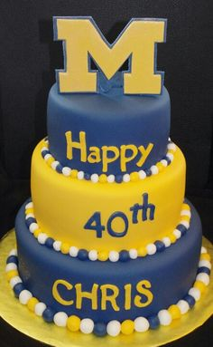 Michigan Cake It Even Has The Right Name Except He S 22 Not