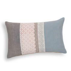 coussin en velours bleu canard maisons du monde deco salon pinterest coussins velours. Black Bedroom Furniture Sets. Home Design Ideas