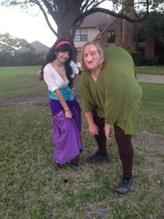 The hunchback of notre dame costume costume pop halloween ii quasimodo and esmeralda couple costume she gets to be sexy he gets to be solutioingenieria Image collections