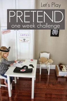 Toddler Approved!: 15 Minute Pretend Play Challenge