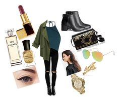 ?✌️? by cansu-celebi on Polyvore featuring polyvore, fashion, style, Rebson, ASOS, H&M, Bling Jewelry, MICHAEL Michael Kors, With Love From CA, Tom Ford, Chanel and Deborah Lippmann
