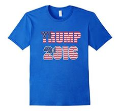 Men's TRUMP 2016 Medium Royal Blue TRI STAR TEE SHIRTS https://www.amazon.com/dp/B01LC10YCY/ref=cm_sw_r_pi_dp_x_lWR-xbD0JPB7F