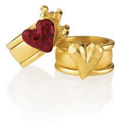 Das Prinzip; Basic Ehering+ Seitenspringer Ring = Eheverheimlichungsring www.drachenfels-design.de