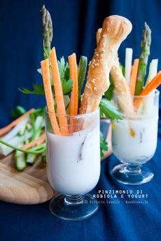 Pinzimonio di robiola e yogurt greco - Noodloves