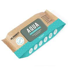 JAK Organics Aqua Baby Wipes - Bulk Buy | Eco Baby Wipes $41.95 https://www.hellocharlie.com.au/jak-organics-aqua-baby-wipes-bulk-buy/