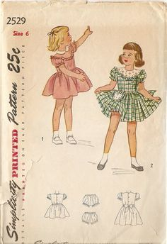 19502 girls dress patterns - Google Search