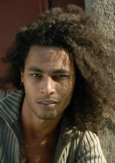 curly long hairstyles for men |