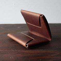 Apogee Handmade: Lovely Leather Wallets And Belts