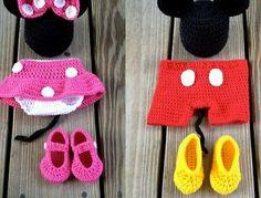 Great-handmade-Minnie-Mouse-baby-boy-or-girls-sett-message-gender-new-born