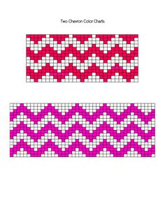 Chevron Knitting Chart a Free Download from the elm Knit Design page of www.knitlily.com That's me!