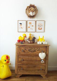 Decopeques: una habitación de bebé tradicional y poco convencional   Ministry of Deco