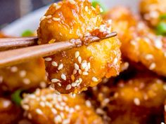 HONEY SESAME CHICKEN | Cook