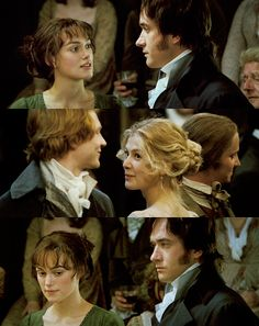 """Darcy had never been so bewitched by any woman as he was by her. He really believed that, were it not for the inferiority of her connections, he should be in some danger."""