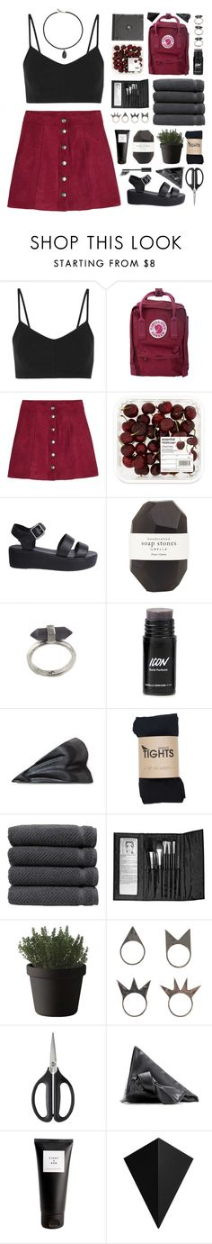 """Black Choker"" by via-m ❤ liked on Polyvore featuring Live The Process, Fjällräven, Nude, Pelle, Karen Kane, Linum Home Textiles, Sephora Collection, Muuto, NLY Accessories and OXO"