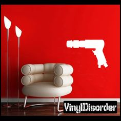Tool - Air Chisel Wall Decal - Vinyl Decal - Car Decal - NS001