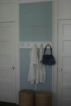 Wyeth Blue Love this color blue Wyeth Blue, New Kitchen, Kitchen Ideas, Simply Seleta, Planked Walls, Life Page, Aqua, Turquoise, Paint Ideas