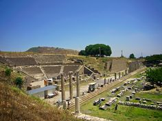 Asklepion, Bergama, ancient hospital in the hometown of Galen