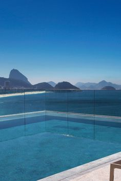 Spend the afternoon lazing with a caipirinha by the infinity pool. #Jetsetter